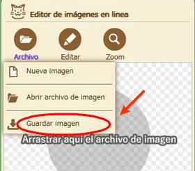 save image