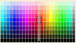カラーチャートの輝度